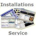 Installations Service für unsere Produkte